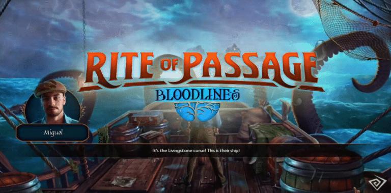 Rite of Passage: Bloodlines (Hidden Object)