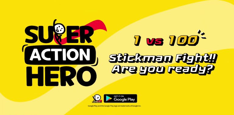 Super Action Hero: Stick Fight