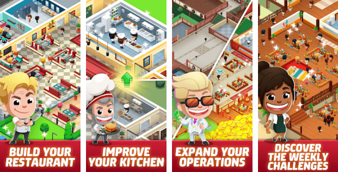 Idle Restaurant Tycoon - Build a restaurant empire