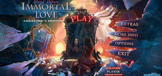Immortal Love: Blind Desire. Hidden Object Game