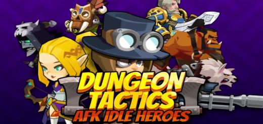 Dungeon Tactics : AFK Heroes