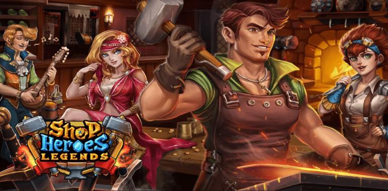 Shop Heroes Legends: Craft & Design