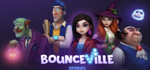 Bounceville Stories - Brick break, Bubble shooter