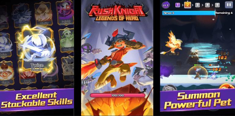 Rush Knight: Legends of Hero