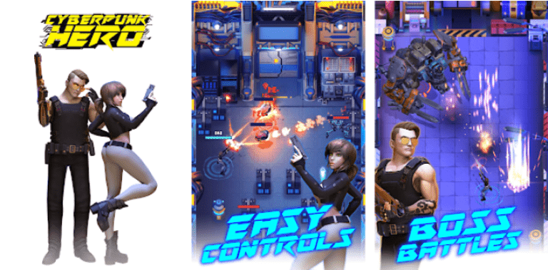 Cyberpunk Hero: Epic Roguelike