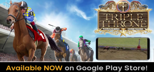 Triple Throne Horse Racing lets you Own, Bet, Breed, Race, and Win. Play through an unlimited season career as a stable manager, bettor, and owner. Build your FAME, and try to become the best stable in the world. Do you have what it takes to run a successful stable and win the Triple Throne races? Each horse in the game is unique -- with it's own run style, strengths/weakness, and potential. Every horse has it's own abilities, and desire to win. Some horses want to win more than others. It's up to you to put together your stable, acquire winning horses, train them to their potential, and most importantly -- win. Earn more money for your stable by winning races with your horses, betting, and selling horses. And when you're ready, race online against your friends, or anyone else in the world. Think you can build a legendary stable and win the Triple Throne? Let's find out.