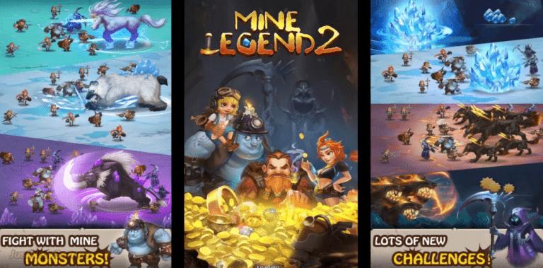 Mine Legend 2 - Idle Miner RPG