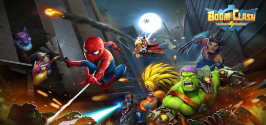 Boom Clash: Justice Avatar - Wonder Heroes 1984