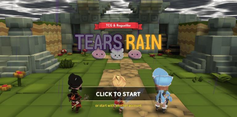 TEARS RAIN : Goddess's plan