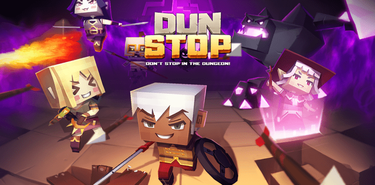 DUNSTOP! - Don't stop in the dungeon : Casual RPG