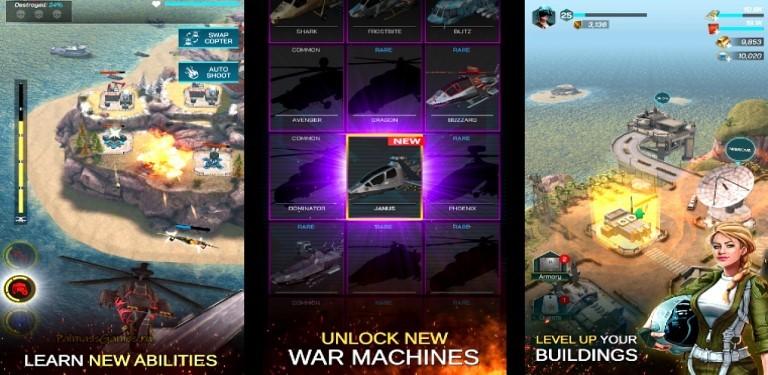 Gunship War: Helicopter Strike