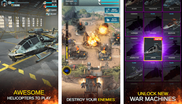 Gunship War: Helicopter Strike