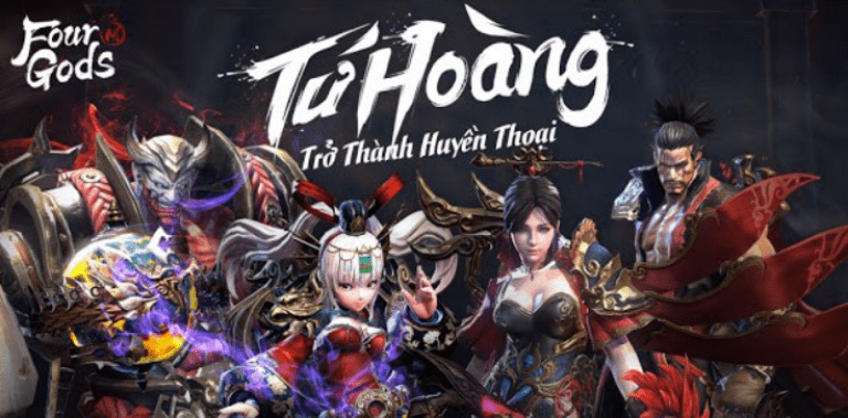 Four Gods M - Tứ Hoàng Mobile