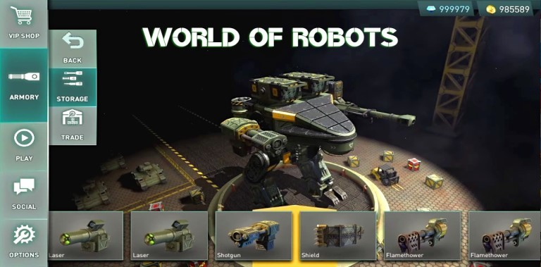 World Of Robots Gameplay Android New Game