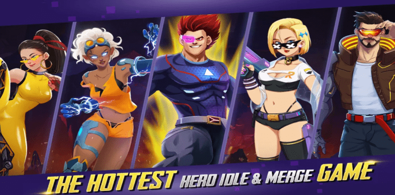 Idle Hero Z - Summon & Merge Arcade Game