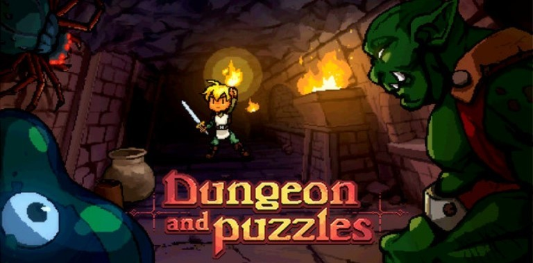 Dungeon and Puzzles - A Fantasy Sokoban Game