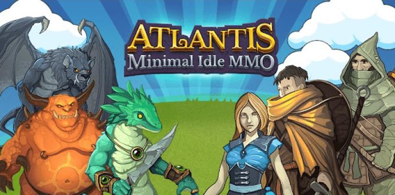 Atlantis minimal idle MMO