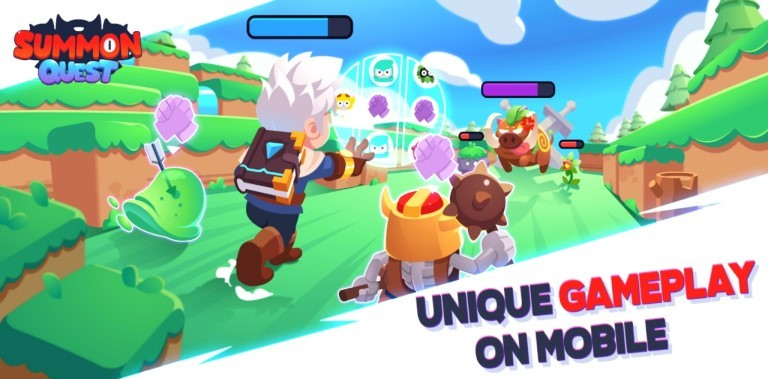 Summon Quest Gameplay Android New Game