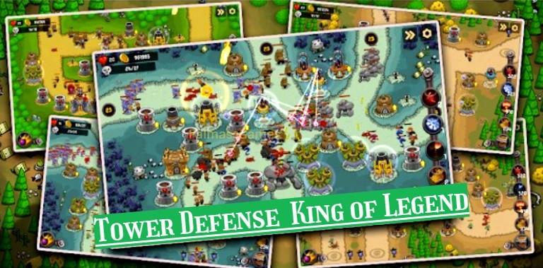 Tower Defense - King of Legend