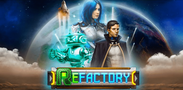 ReFactory. Build and develop an automated factory!
