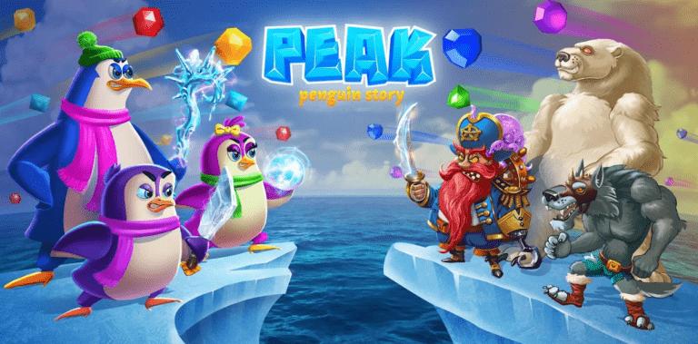 Peak - Penguin Story Match3 Games