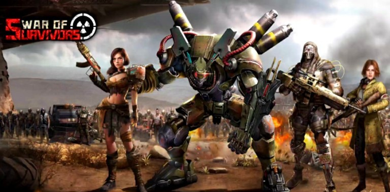 War of Survivors Gameplay Android Ios New Game