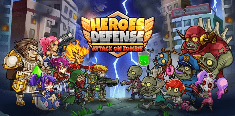 Heroes Defense: Attack on Zombie