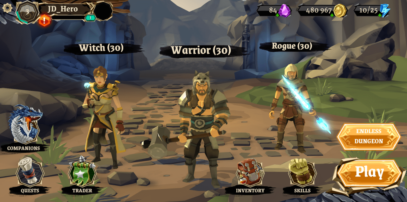 Polygon Fantasy: Action RPG (Early Access)