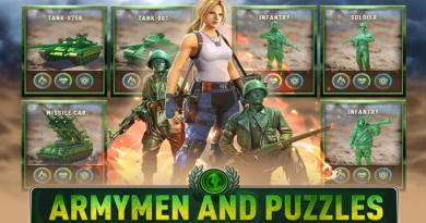 Army men & Puzzles