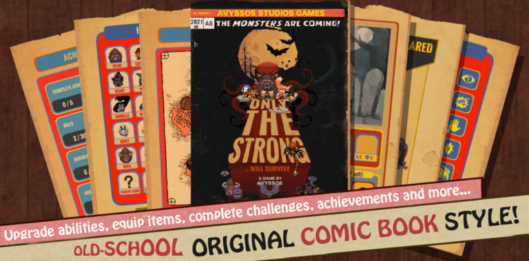 Only The Strong - Gameplay Android New Game