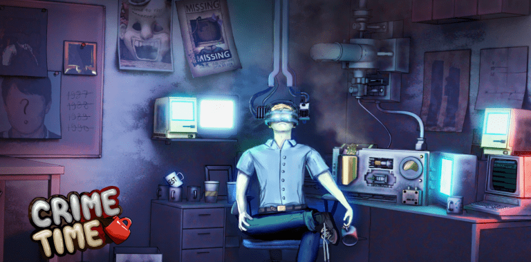 Crime Time Adventure: Detective Story Game