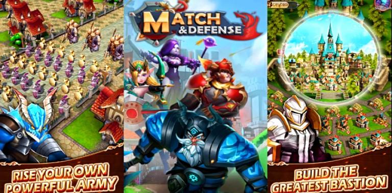 Match & Defense:Match 3 game