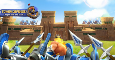 Tower defense: Dragon Idle and clash