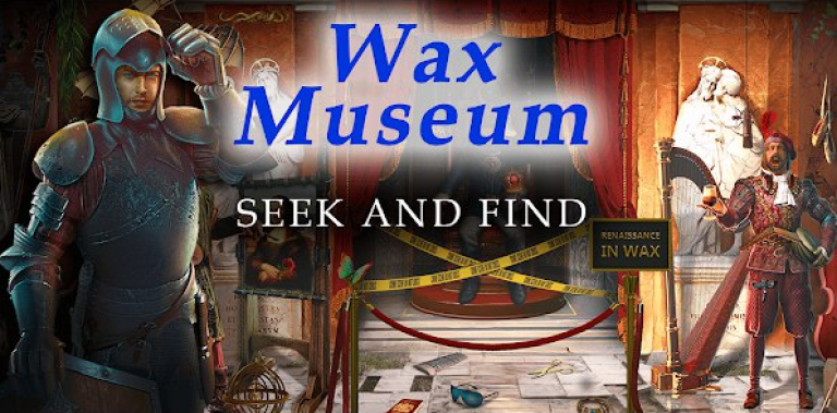 Seek and Find: Mystery Wax Museum Hidden Pictures