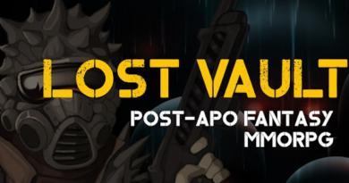 Lost Vault | Post-Apo Fantasy MMORPG